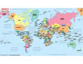 Where To Buy A World Map by Buy World Political Map Online