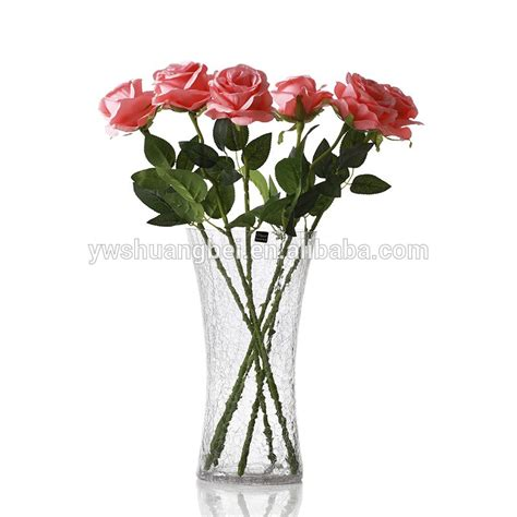Cheap Flower Vases Cheap Glass Flower Vase With Bottom For