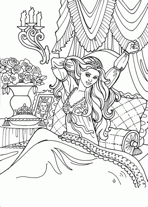 coloring pages for adults princess princess leonora coloring pages coloringpagesabc com