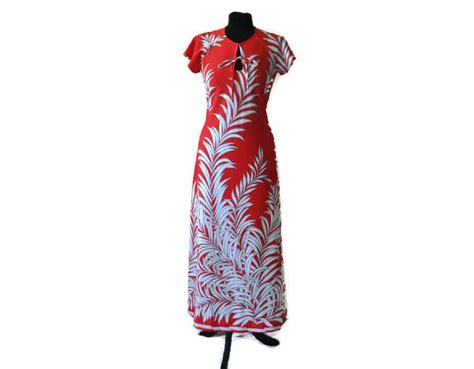 vintage novelty print maxi dress uk size 8 10 just