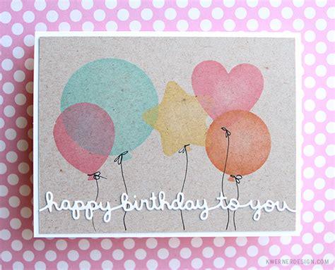 make a card monday masking diy stencil birthday cards make a card monday