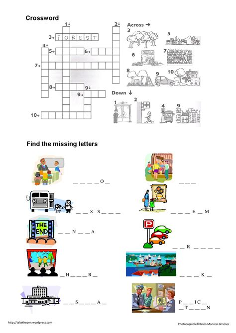 places worksheet the city worksheet scholl worksheets and