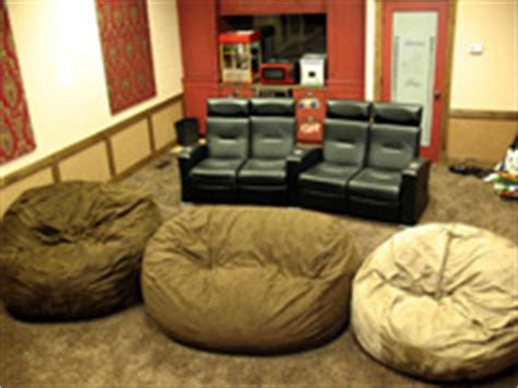 Home Theatre Bean Bag Chairs Relaxsacks Launches Website Selling Unique Bean Bag