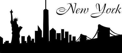 Sosc 1000 York Outline by Wandtattoo New York Skyline Amerika Wand Aufkleber Sticker Stadt W3 Ebay