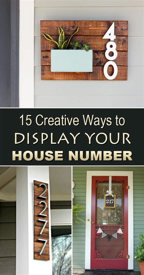 creative house names 15 creative ways to display your house number
