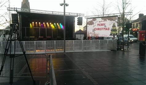 outdoor led screen rental ireland christmas lights event