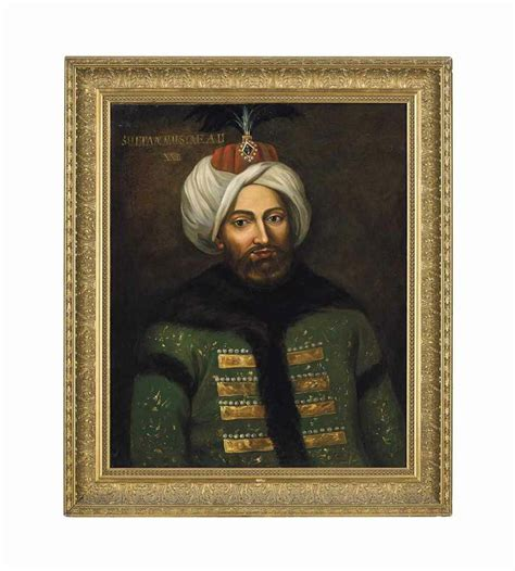 list of ottoman sultans a large portrait of sultan mustafa ii ottoman turkey