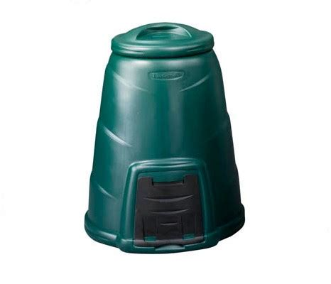 plastic compost bin 330l green compost converter the composting people
