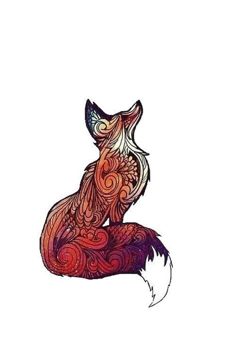 tattoo ink animal ingredients tribal print fox tattoo ideas pinterest design