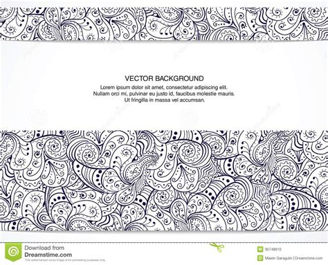 eps format till jpg beautiful floral invitation card black and white stock