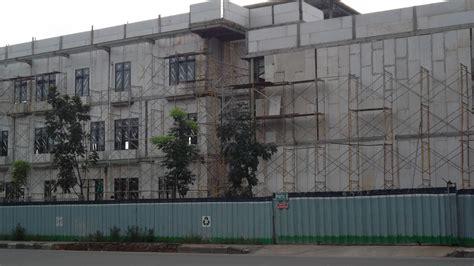 Jual Rockwool Gresik jual panel dinding precast beton ringan harga murah