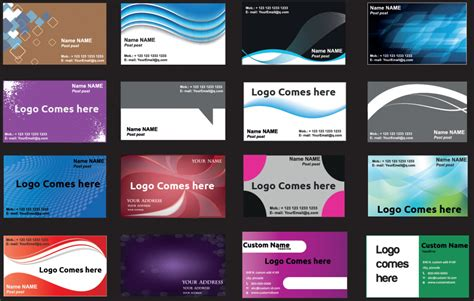 Business Card Templates Free Pdf by Business Card Template Pdf 100 Business Card Templates