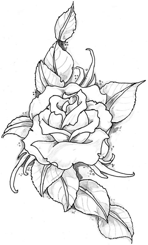 rose tattoo image image by eltattooartist on deviantart