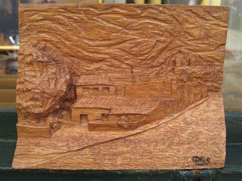 imagenes de paisajes tallados en madera muy buena talla de madera de g rius gran oportunidad