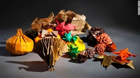 Easy Thanksgiving Origami - mit geeks create an origami thanksgiving cnn