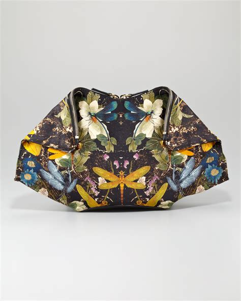Clutch Alexanders Mcqueen lyst mcqueen dragonfly demanta clutch bag