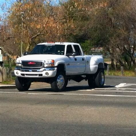 lifted gmc dually lifted gmc dually truck lifted jacked up trucks big