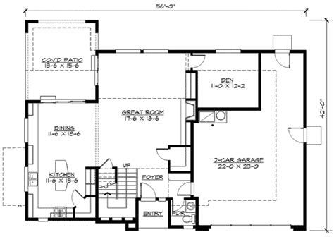 open loft floor plans plan w23399jd open rail study loft e architectural design