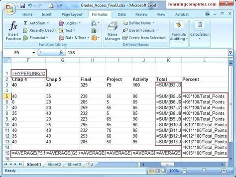 tutorial excel 2013 en pdf formulas for microsoft excel how to convert a formula to a