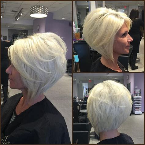 pictures of stacked angled bobon older woman short layered stacked bob hairstyles foto bugil 2017