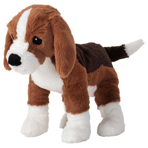 ikea dog gosig valp soft toy dog beagle ikea