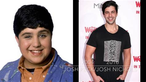 drake from drake and josh drake and josh then and now 2016 youtube