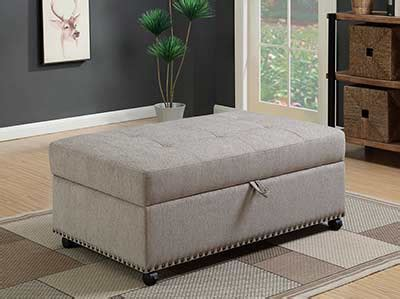 ottoman with hidden twin bed sleeper ottoman co338 sofa beds