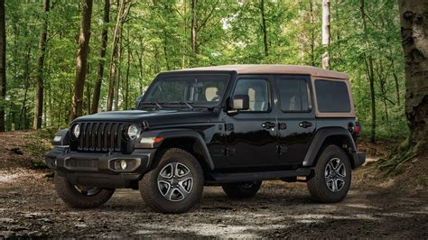 jeep diesel 2020 2020 jeep wrangler jl special editions willys black