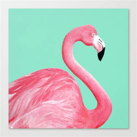 Flamingo Kanvas by Pink Flamingo Canvas Print By Lorri Leigh Society6