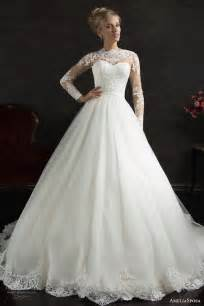 sleeve gown wedding dress ameliasposa 2015 wedding dresses wedding inspirasi