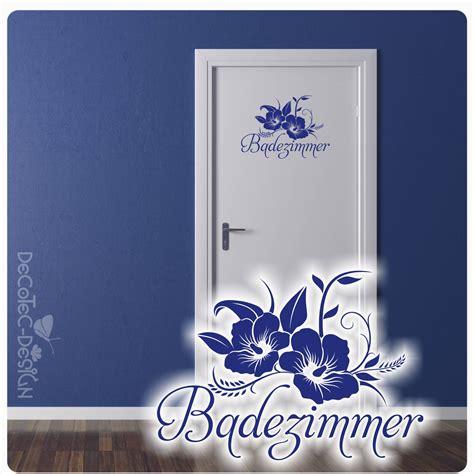 Blumen Aufkleber Bad by Badezimmer Hibiskus Blumen Wandtattoo T 252 Raufkleber Bad