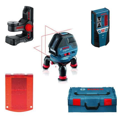Laser Garis Bosch Gll 5 50 X Professional bosch gll 3 50 professional line laser mini tripod lr2 receiver wall mount l boxx machine