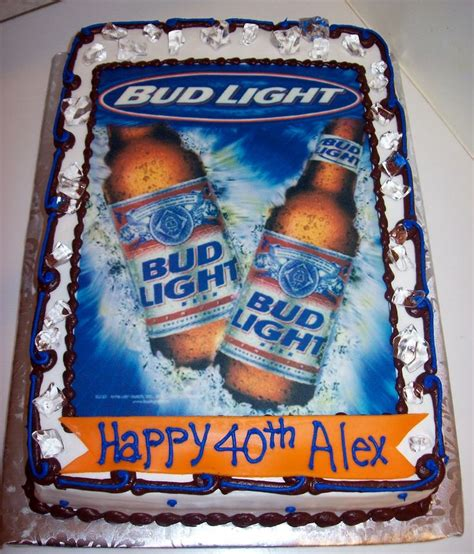 bud light birthday message 15 best images about juanchy s birthday cake on pinterest