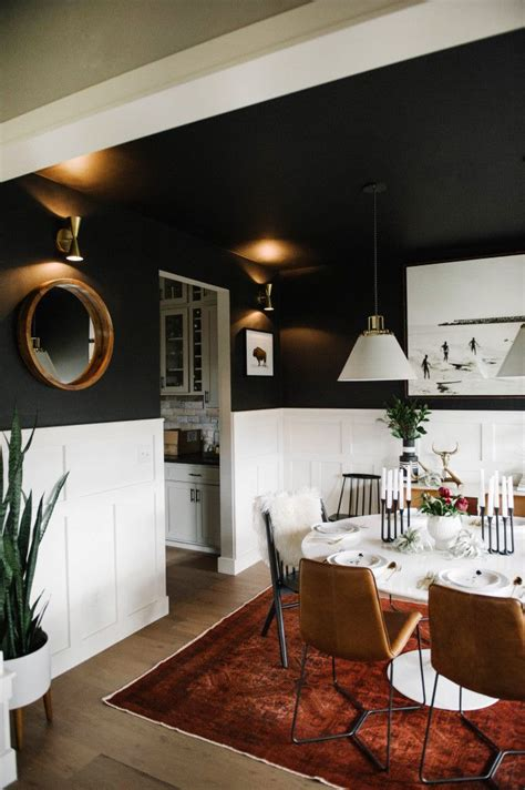 Rooms With Black Ceilings by 25 Best Ideas About Black Ceiling On