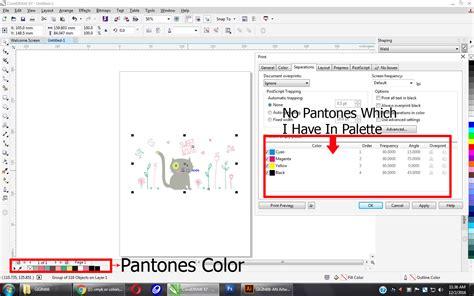 coreldraw community print seperation problem coreldraw graphics suite x5