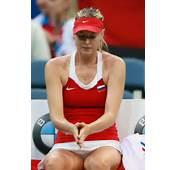Maria Sharapova At The Fed Cup Czech Republic Vs Russia In Prague