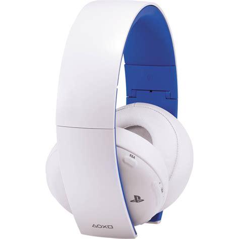 Sony Gold Wireless Headset sony playstation gold wireless headset white 3000438 b h photo