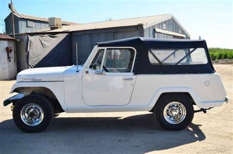 Jeep Convertible Restored 1968 Jeep Commando 4x4 Convertible Truck
