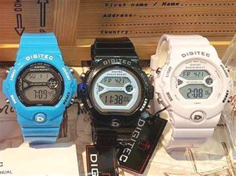 Q Q Original Jam Cewe jam tangan digitec original cewek delta jam tangan