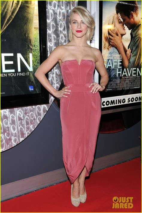 safe haven red dress full sized photo of josh duhamel julianne hough safe haven