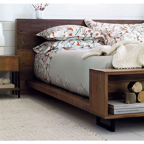 atwood bed in beds headboards crate and barrel