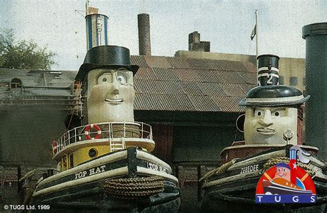 tugboat hat tugs top hat and zebedee 1989 by ttteepisodesus on