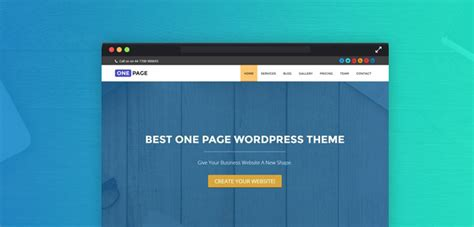 single page website tutorial wordpress create website with one page wordpress theme tutorial
