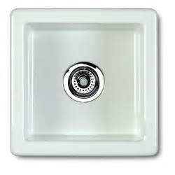 White Ceramic Undermount Kitchen Sink Shaws Belthorn 381mm X 381mm White Ceramic Single Bowl Inset Or Undermount Kitchen Sink Belthorn