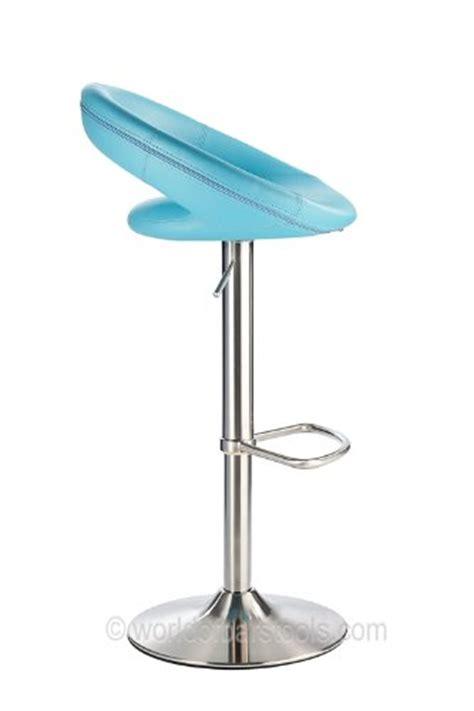 duck swivel stool sorrento brushed kitchen bar stool duck egg blue