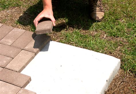 How To Lay A Patio On Concrete by How To Properly Install 1 Pavers Concrete