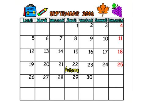 Calendrier 2018 Ca Peut Servir Calendrier 2016 Mois Septembre Octobre Novembre Decembre