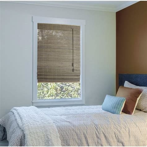 Driftwood L Shades by Home Decorators Collection Driftwood Beveled Reed Weave
