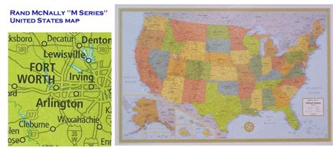 laminated us road map united states highway wall map in paper laminated or