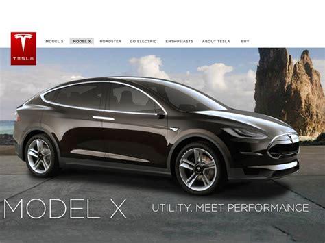 Tesla Motor X Tesla Motors Model X The Electric Suv